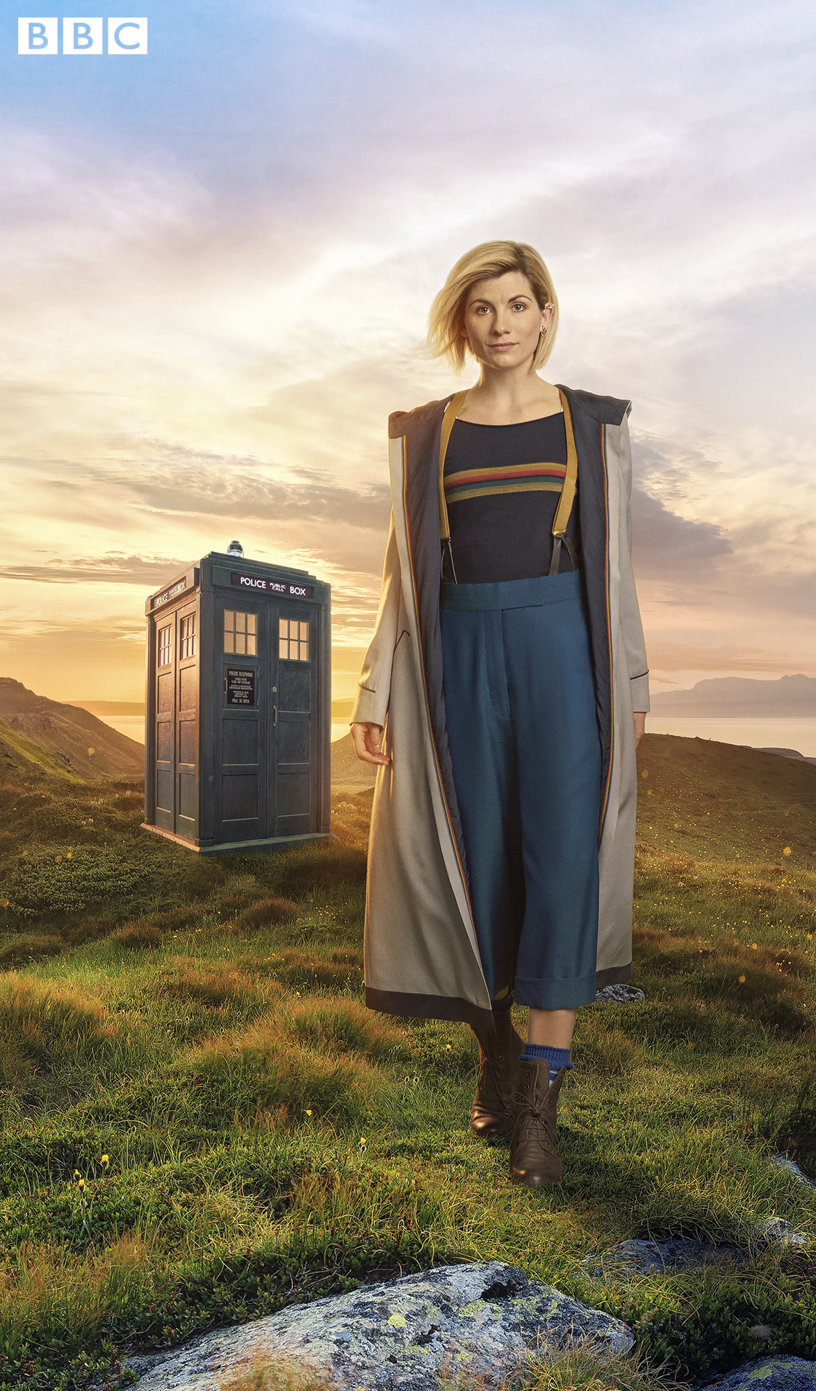 New Doctor Who Costume and TARDIS Exterior revealed