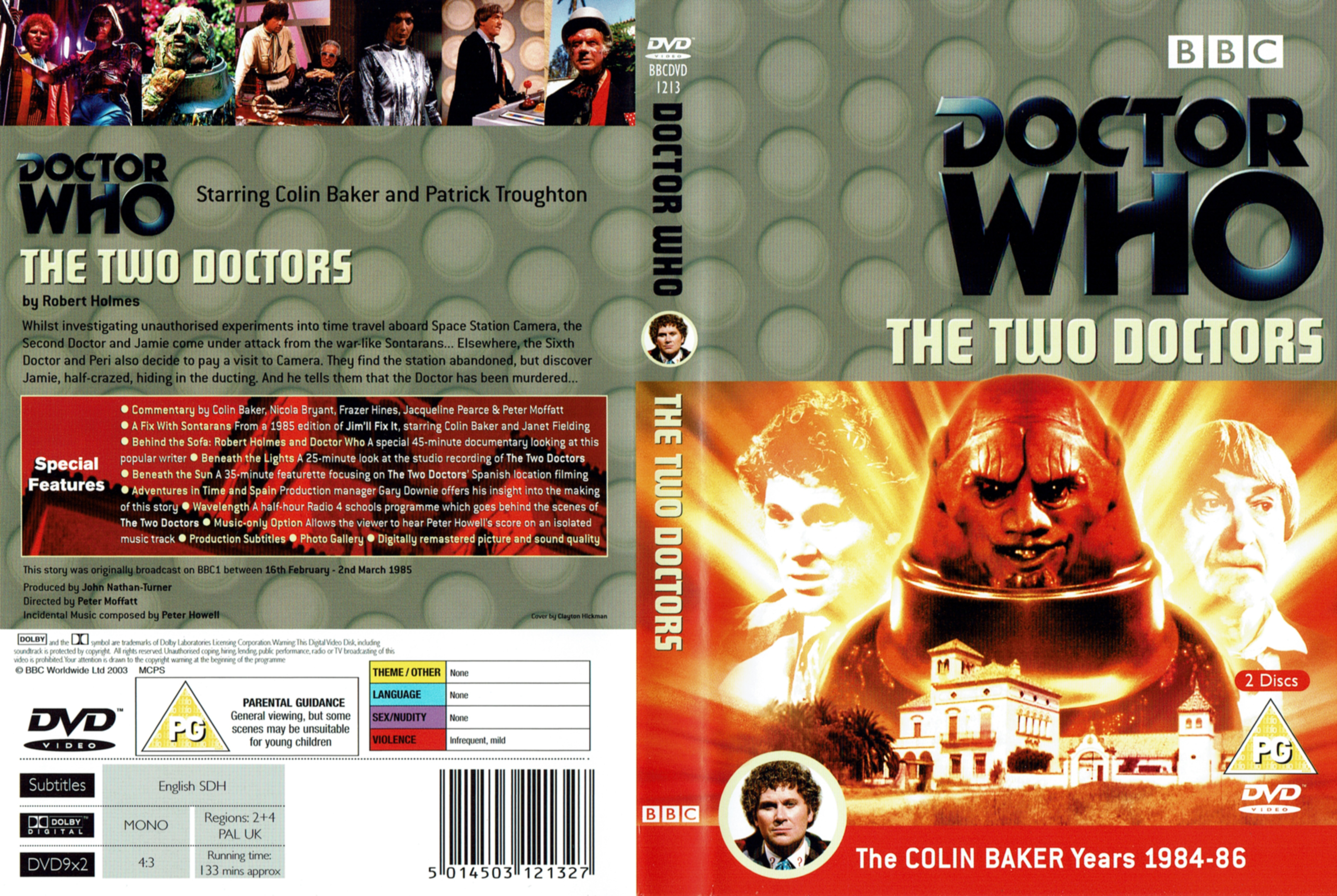 The Two Doctors DVD