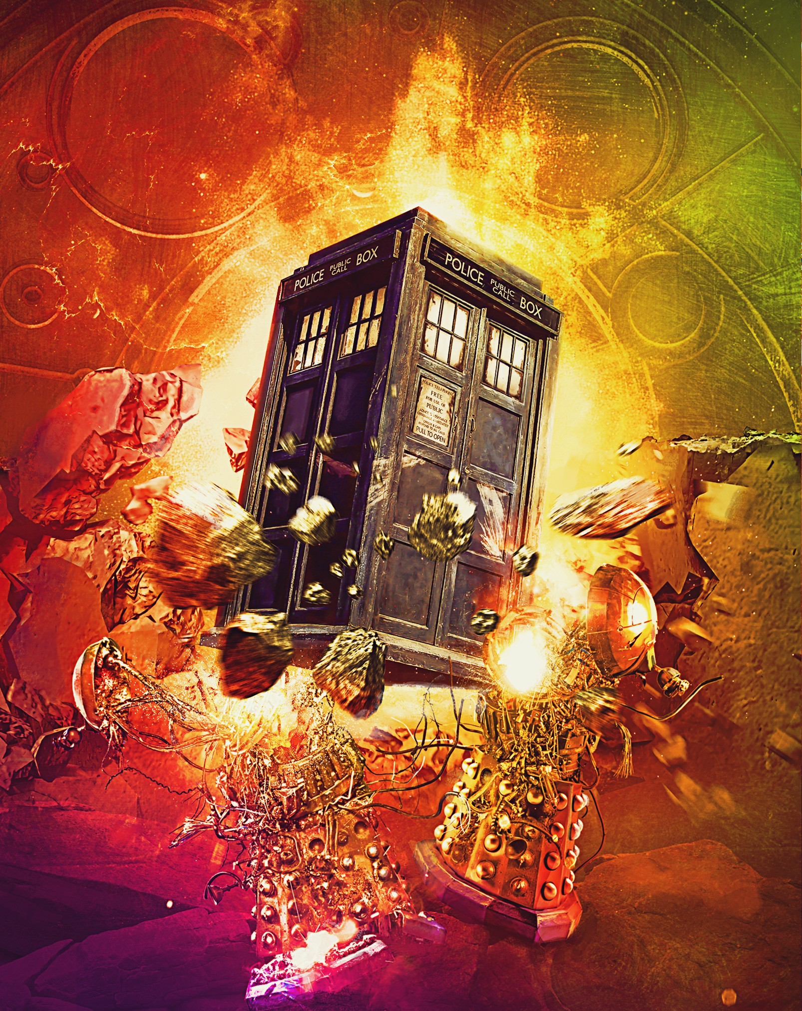 Doctor Who 50th Anniversary Steelbook