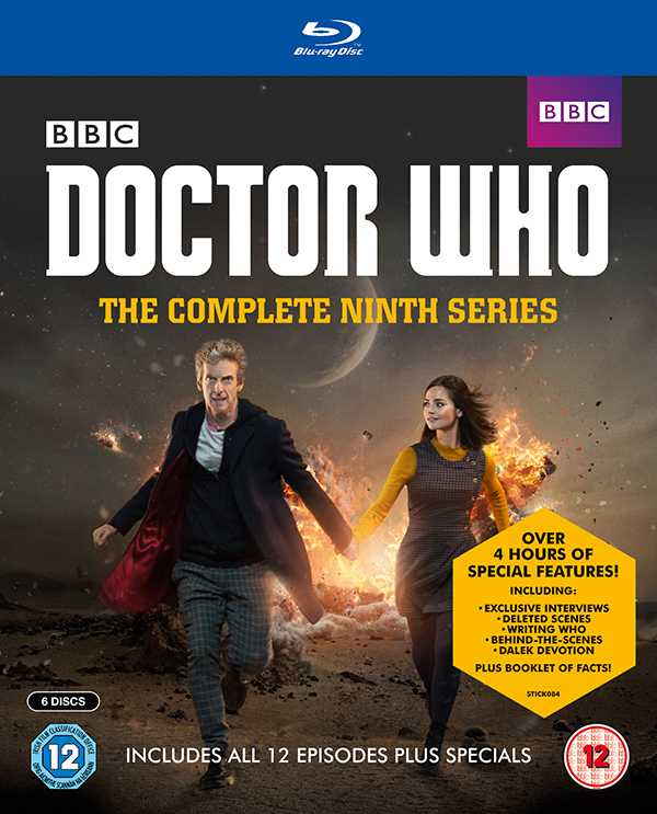 Complete Series 9 Blu Ray Cover