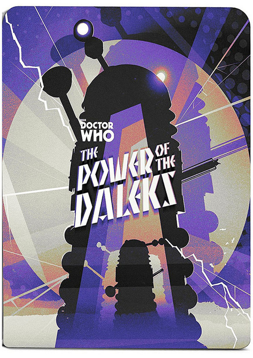 Power Of The Daleks Steel Book