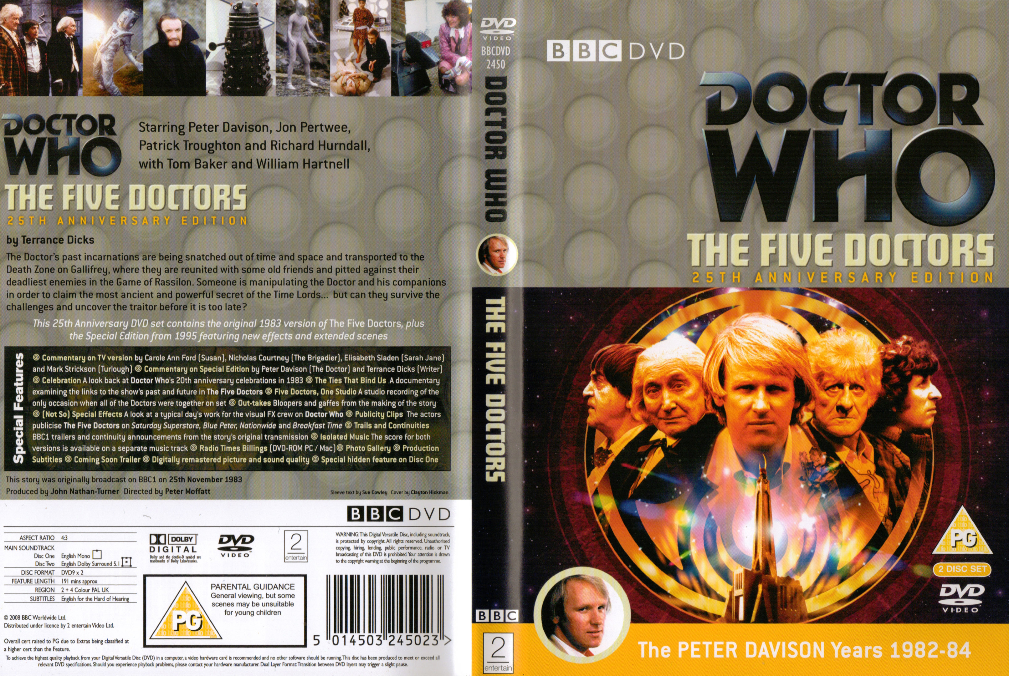 The Five Doctors 20th Anniversary DVD