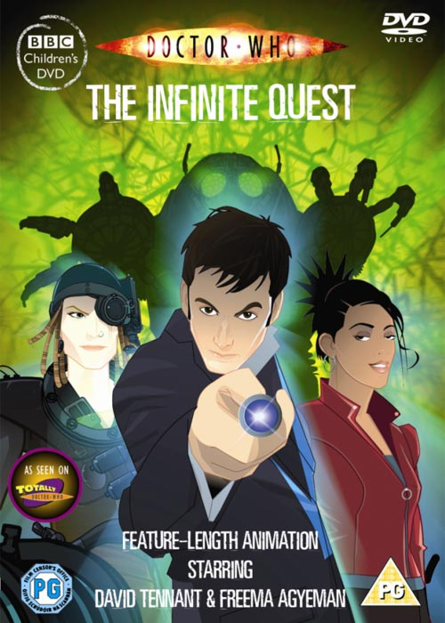 Infinite Quest DVD