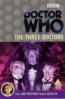The Three Doctors cover