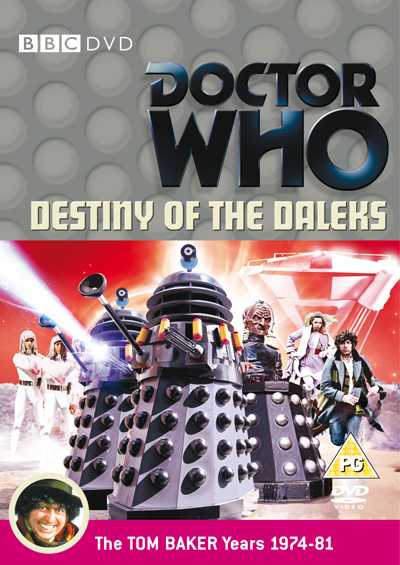 Destiny of the Daleks cover