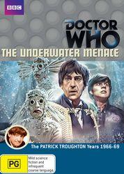 The Underwater Menace DVD