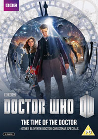 The Time  Of The Doctor DVD