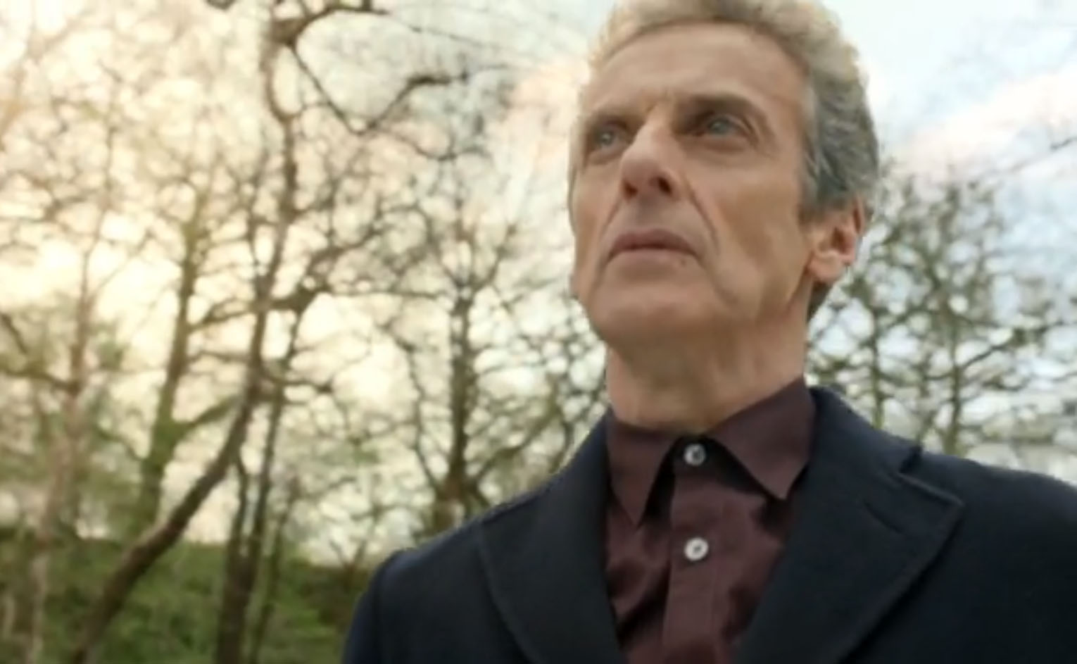 Peter Capaldi is leaving.