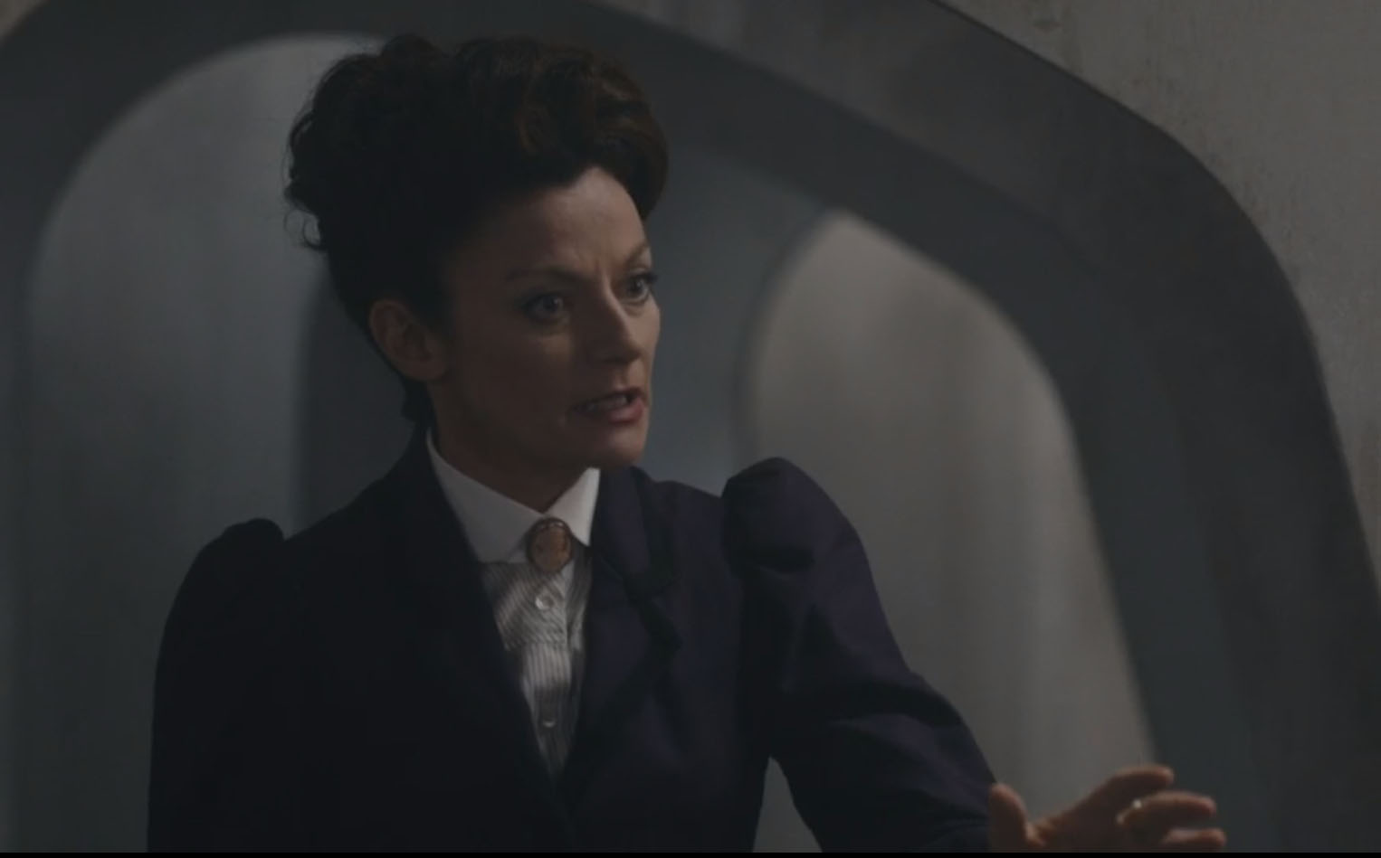 Missy/The Master as in The Witch's' Familiar