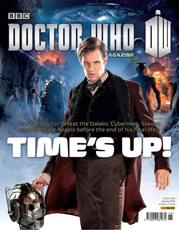 Doctor Who Magazine 468