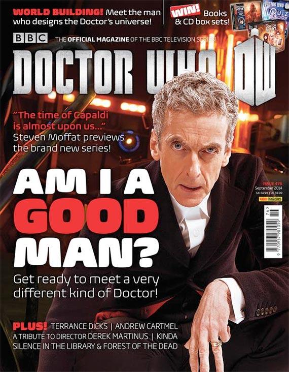 Doctor Who Magazine 476
