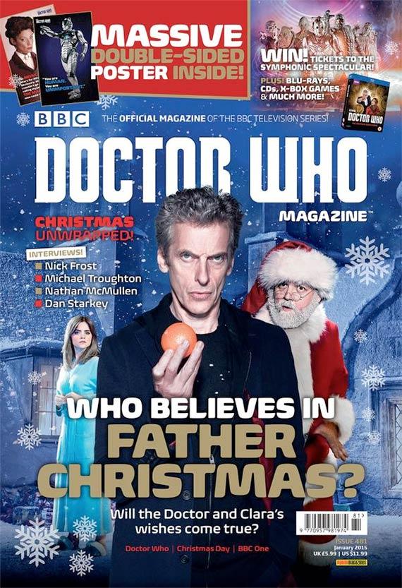Doctor Who Magazine 481