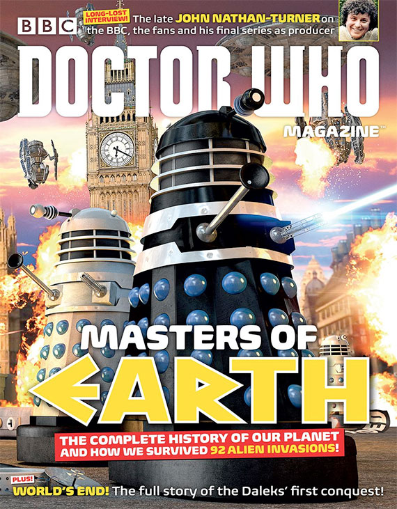Doctor Who Magazine 487