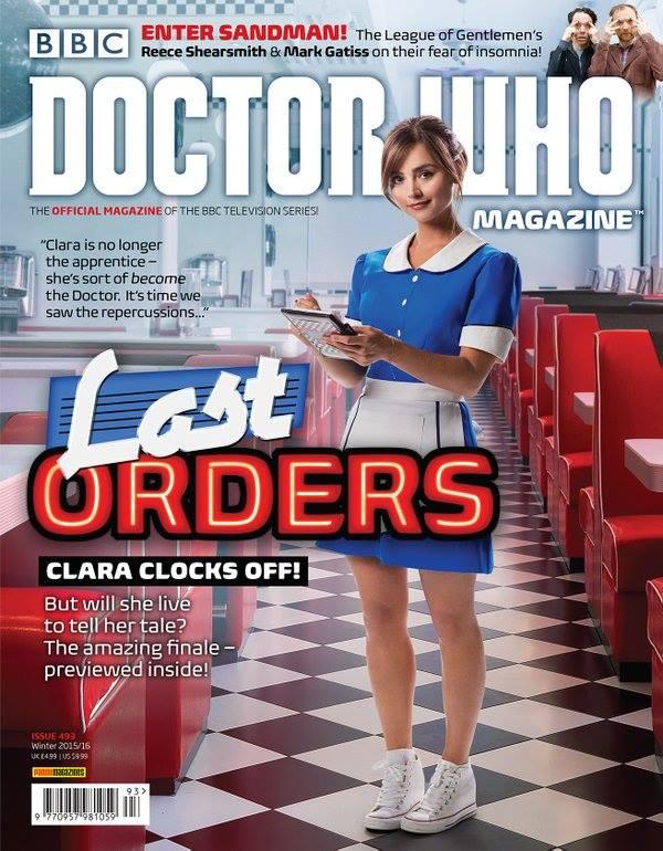 Doctor Who Magazine 493