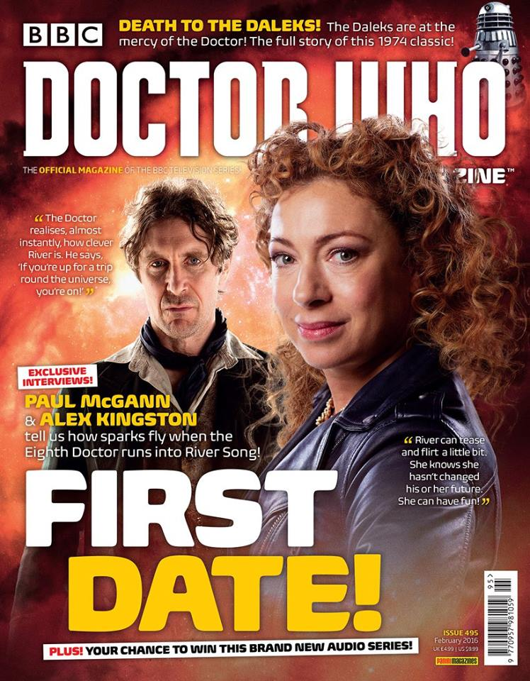 Doctor Who Magazine 495