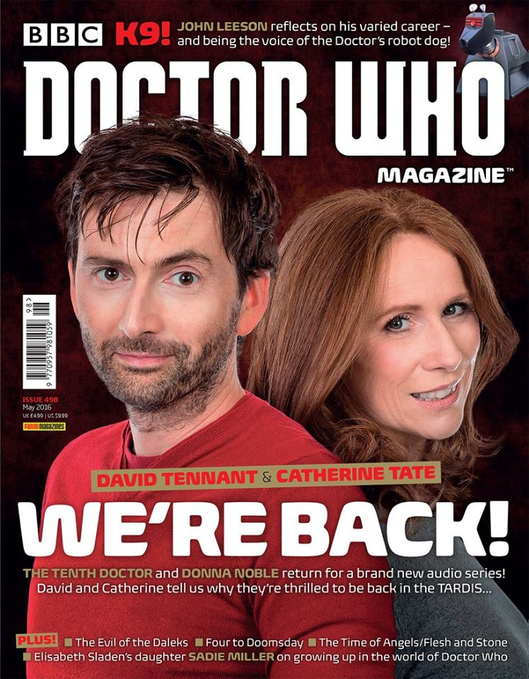 Doctor Who Magazine 498