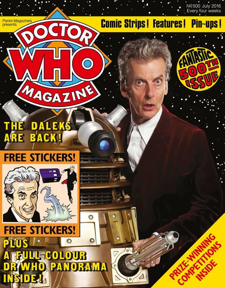 Doctor Who Magazine 500