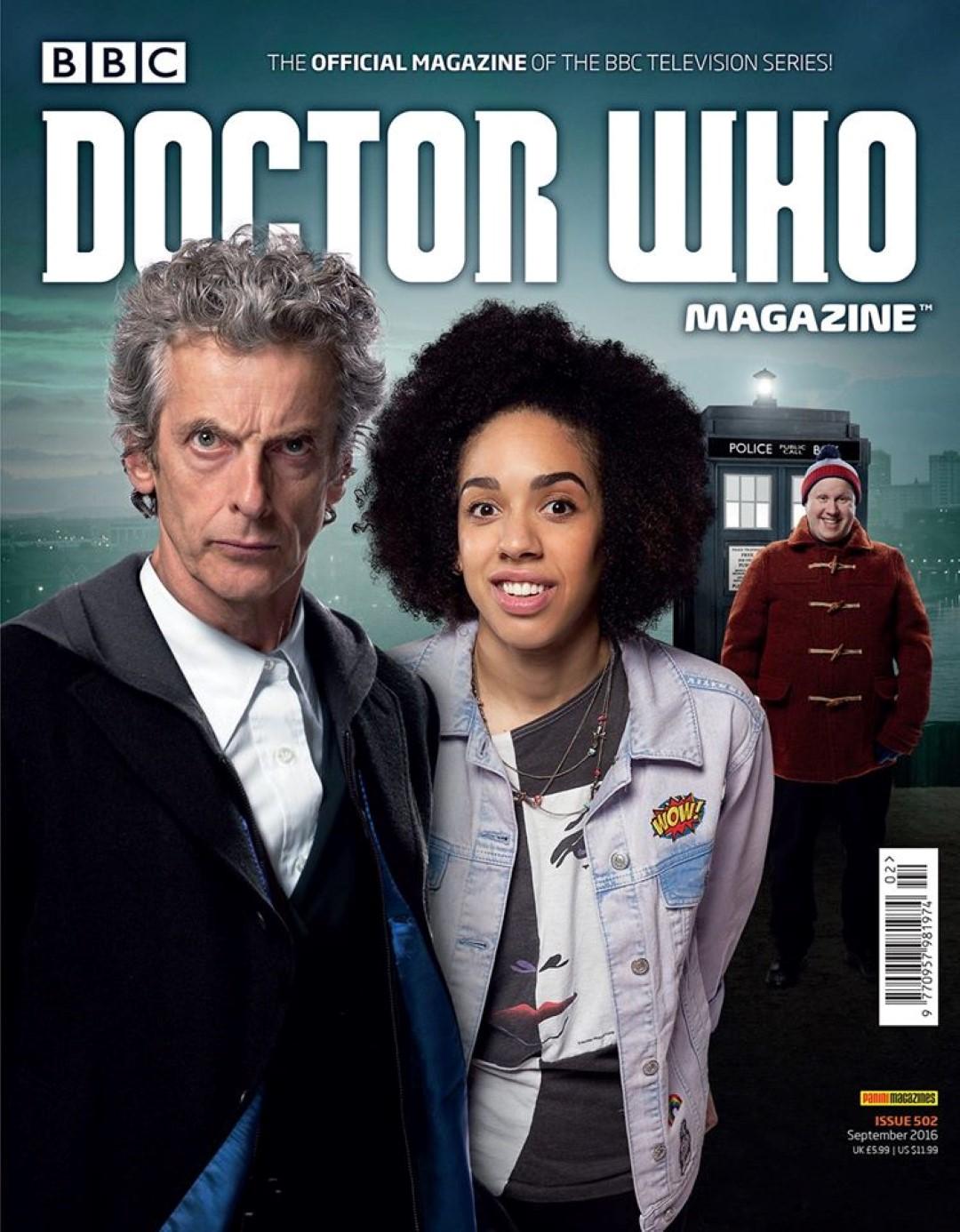 Doctor Who Magazine 502