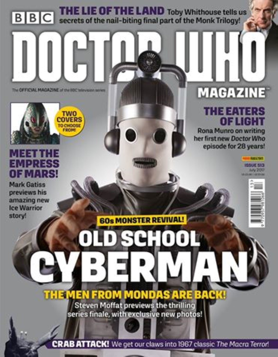Doctor Who Magazine 513