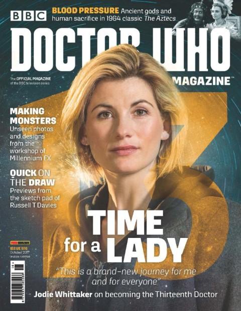 Doctor Who Magazine 516