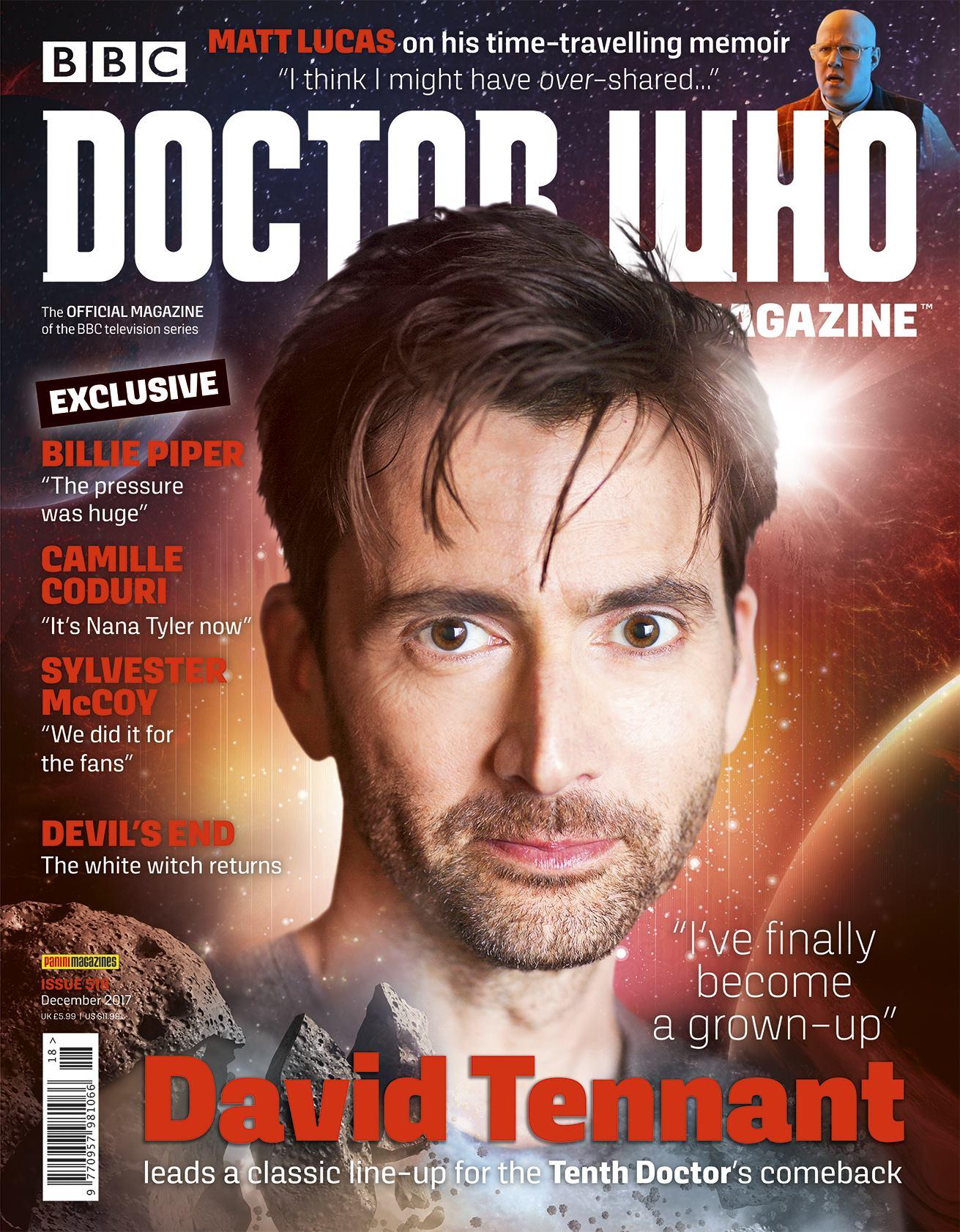 Doctor Who Magazine 518