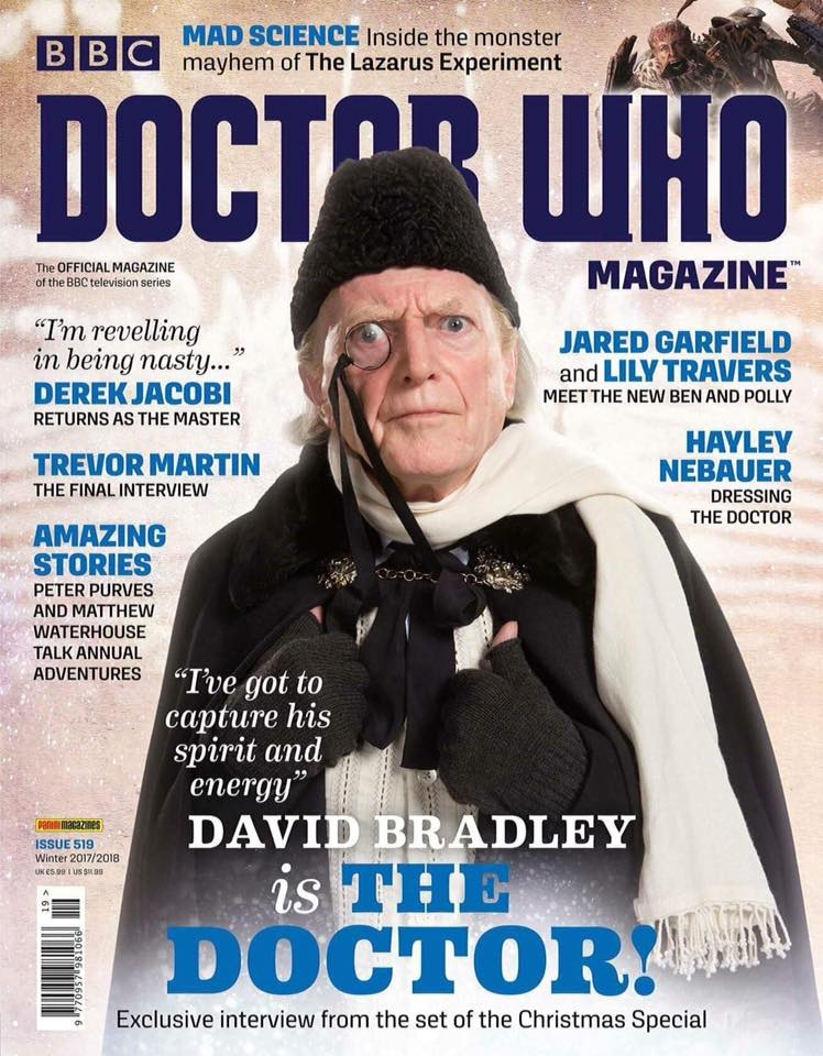 Doctor Who Magazine 519