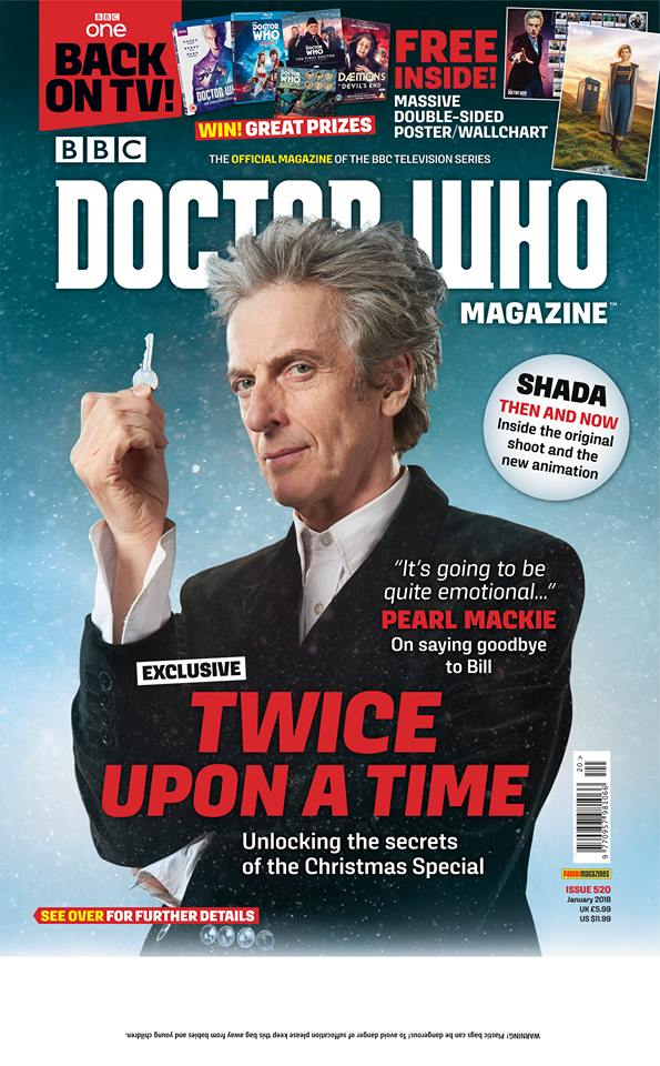 Doctor Who Magazine 520
