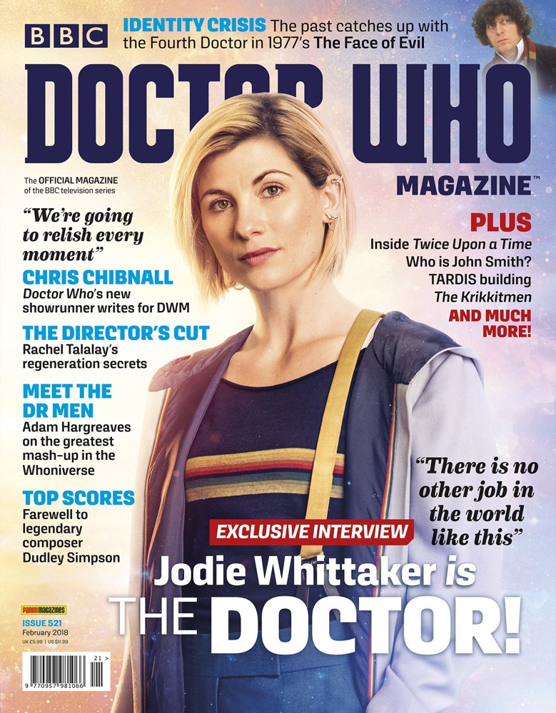 Doctor Who Magazine 521