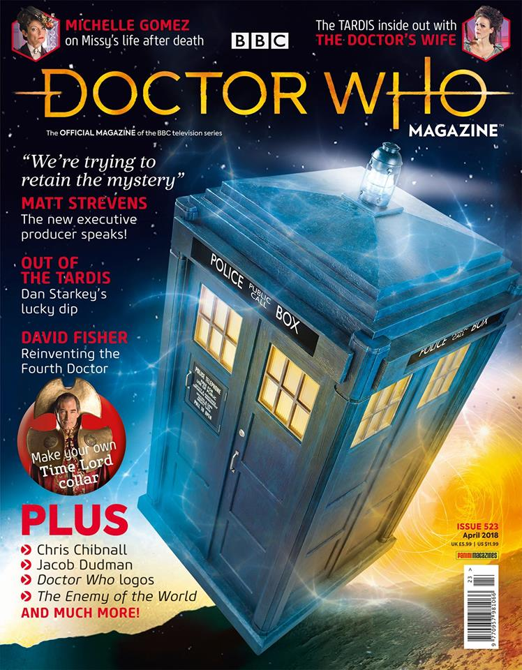 Doctor Who Magazine 523
