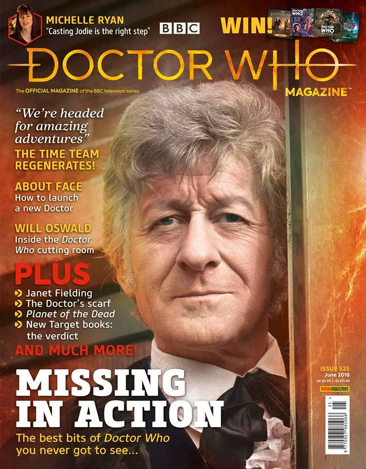 Doctor Who Magazine 525