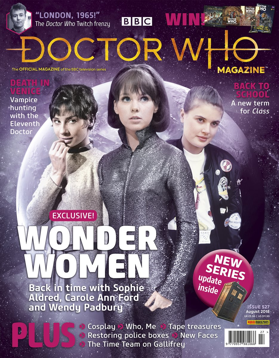 Doctor Who Magazine 527