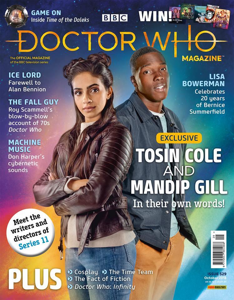 Doctor Who Magazine 529