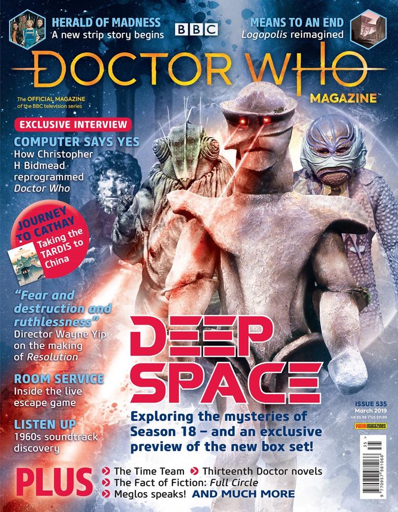 Doctor Who Magazine 535