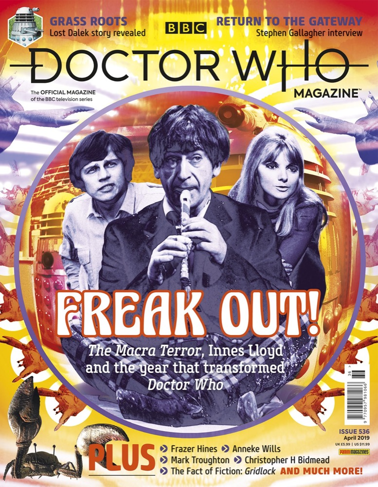 Doctor Who Magazine 536