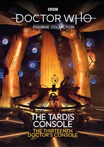 Figurine Collection Magazine TARDIS Console #6 13th Doctor