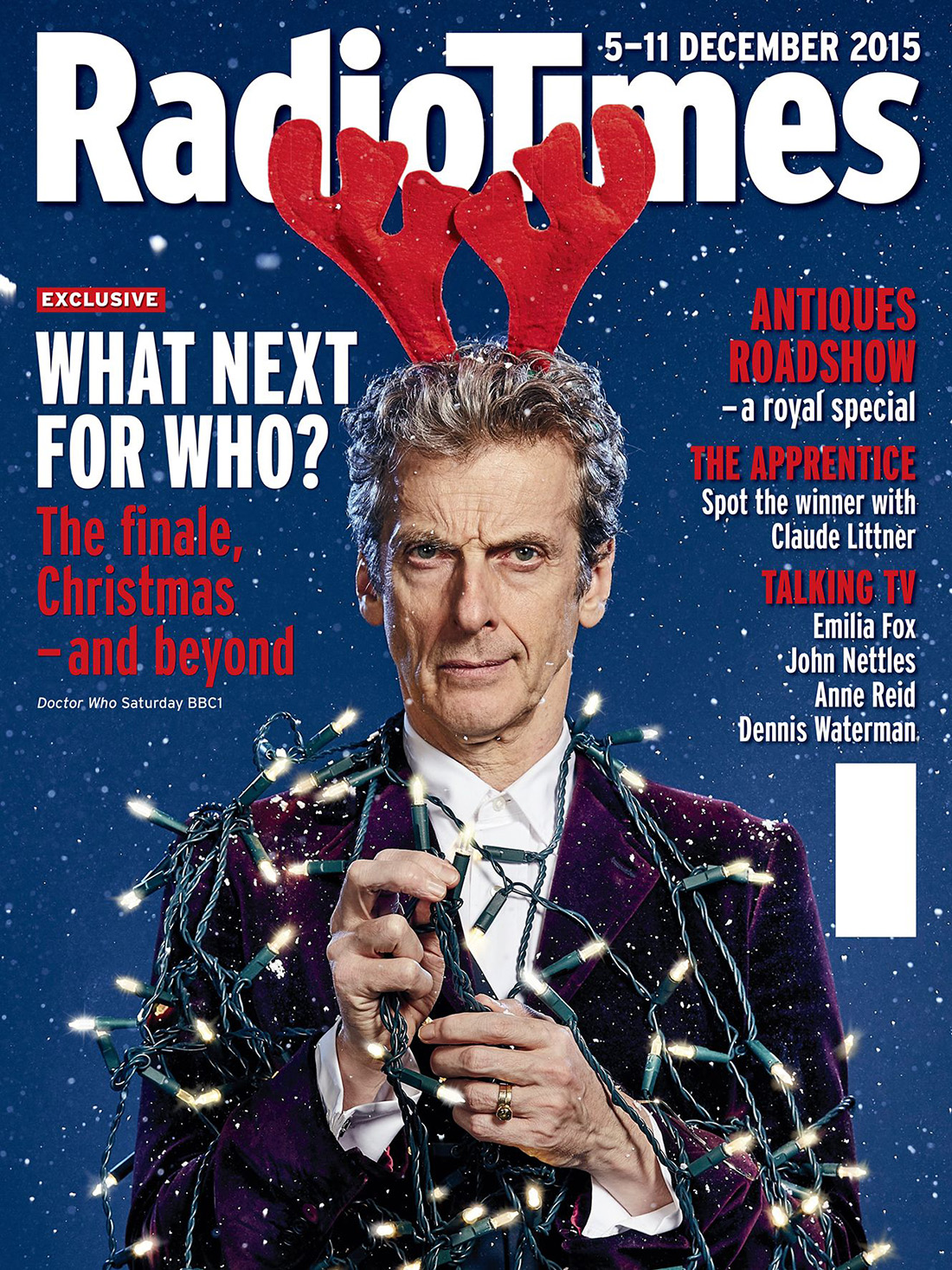 Doctor Who Radio Times. 2003 to present day. Rtimesdec2015l