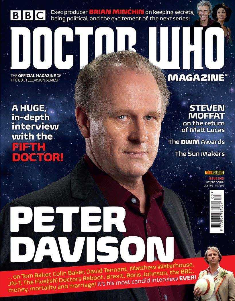 Doctor Who Magazine 503