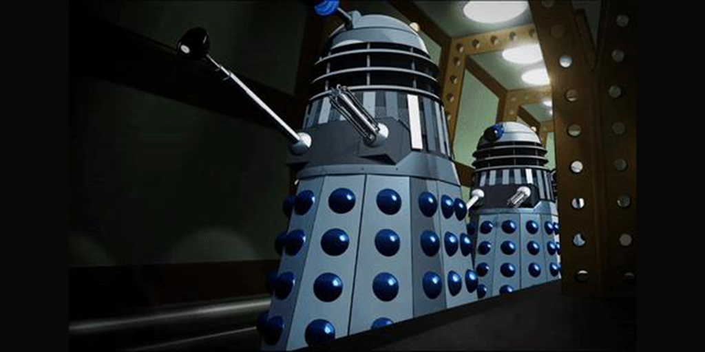 Power Of The Daleks in colour