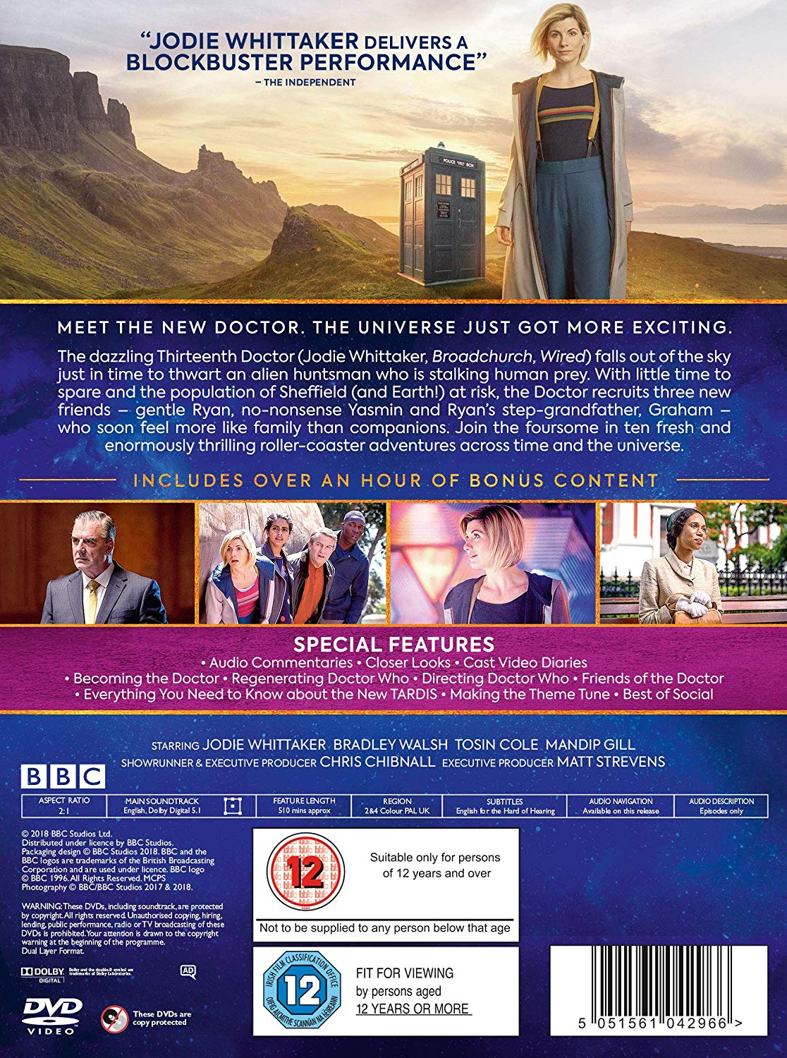 The Complete Series 11 Blu Ray