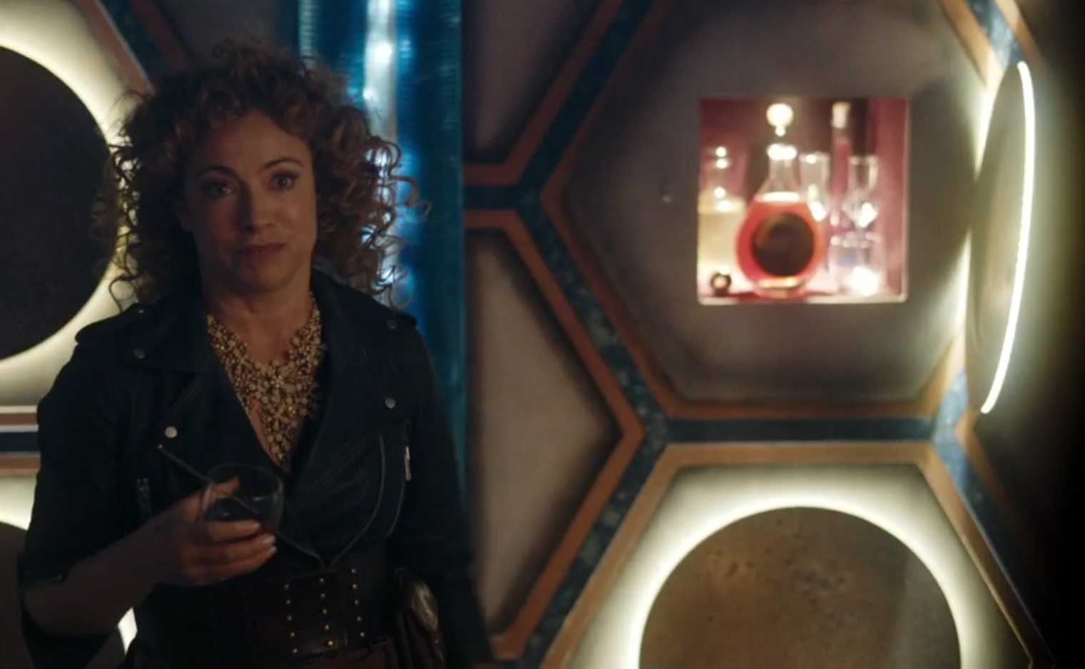 River Song as in The Husbands Of River Song