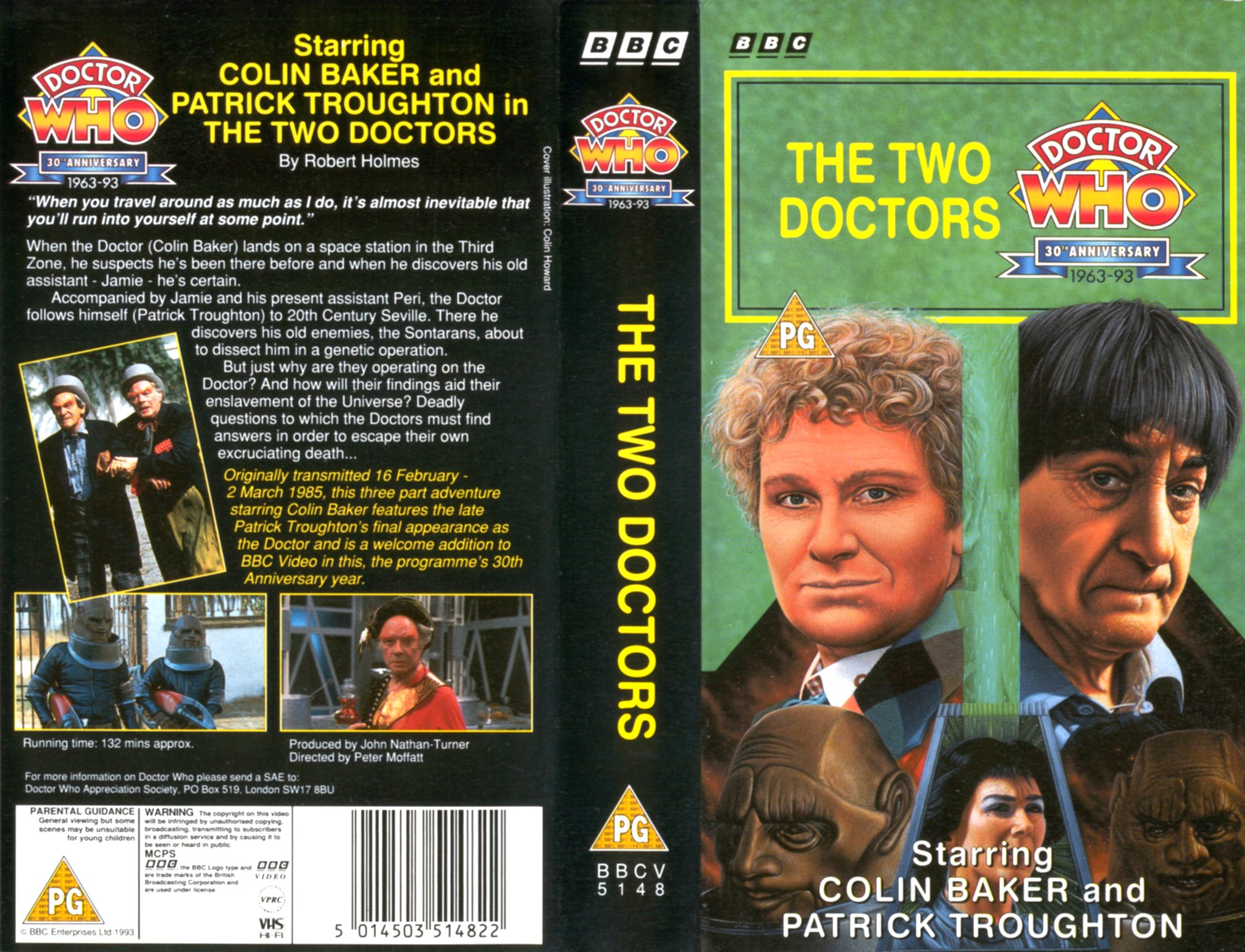 The Two Doctors VHS