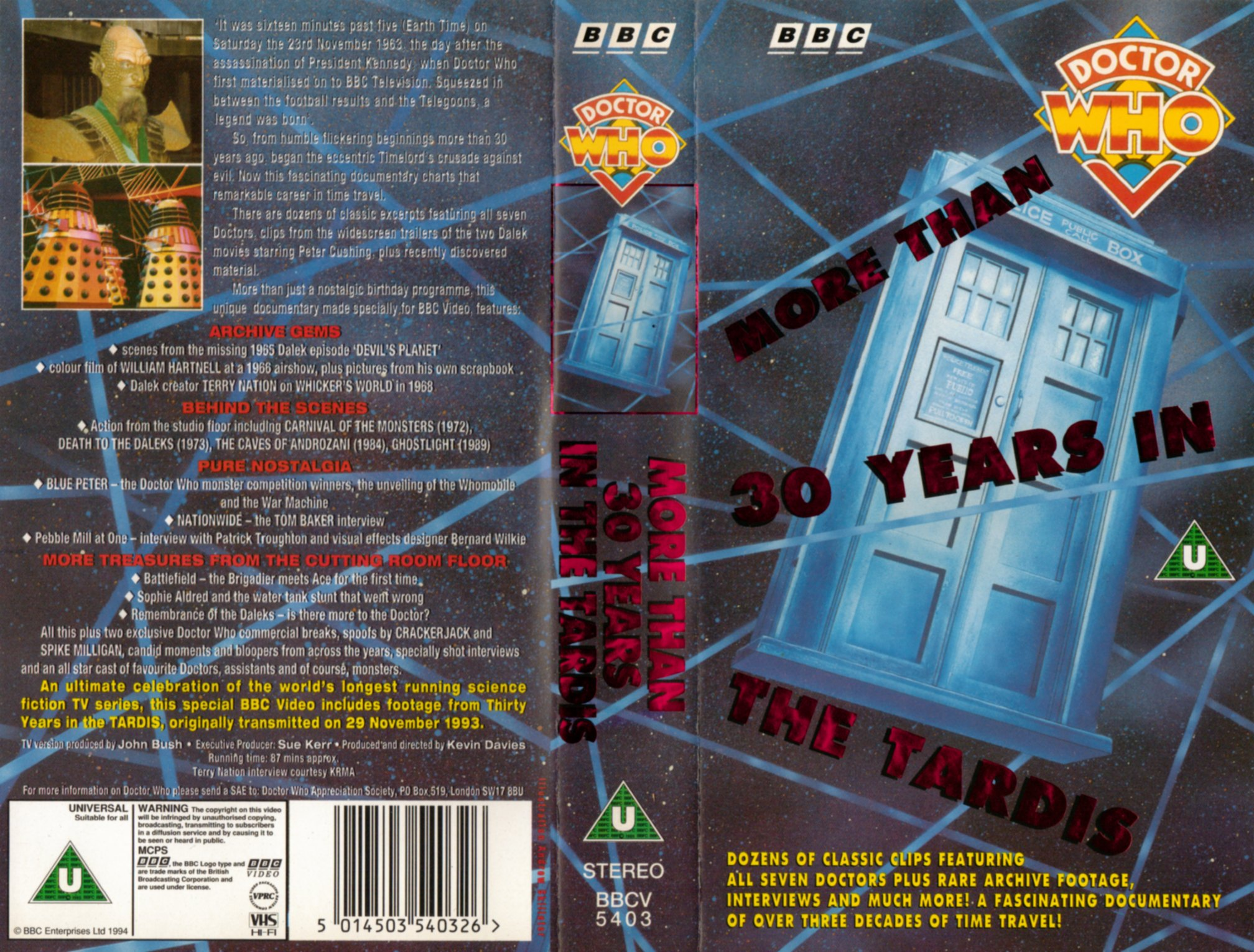 More than 30 Years in the TARDIS