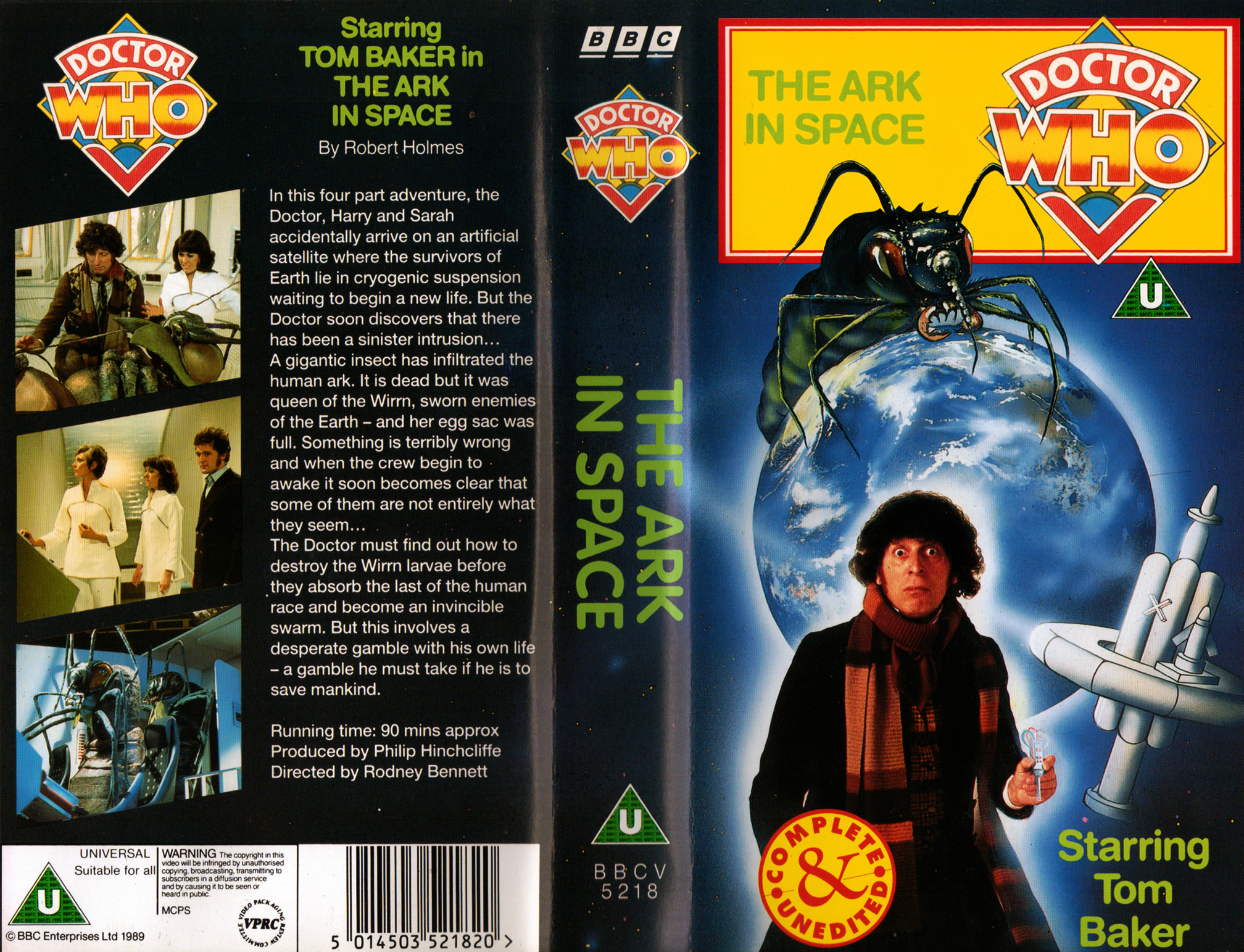 The Ark In Space VHS
