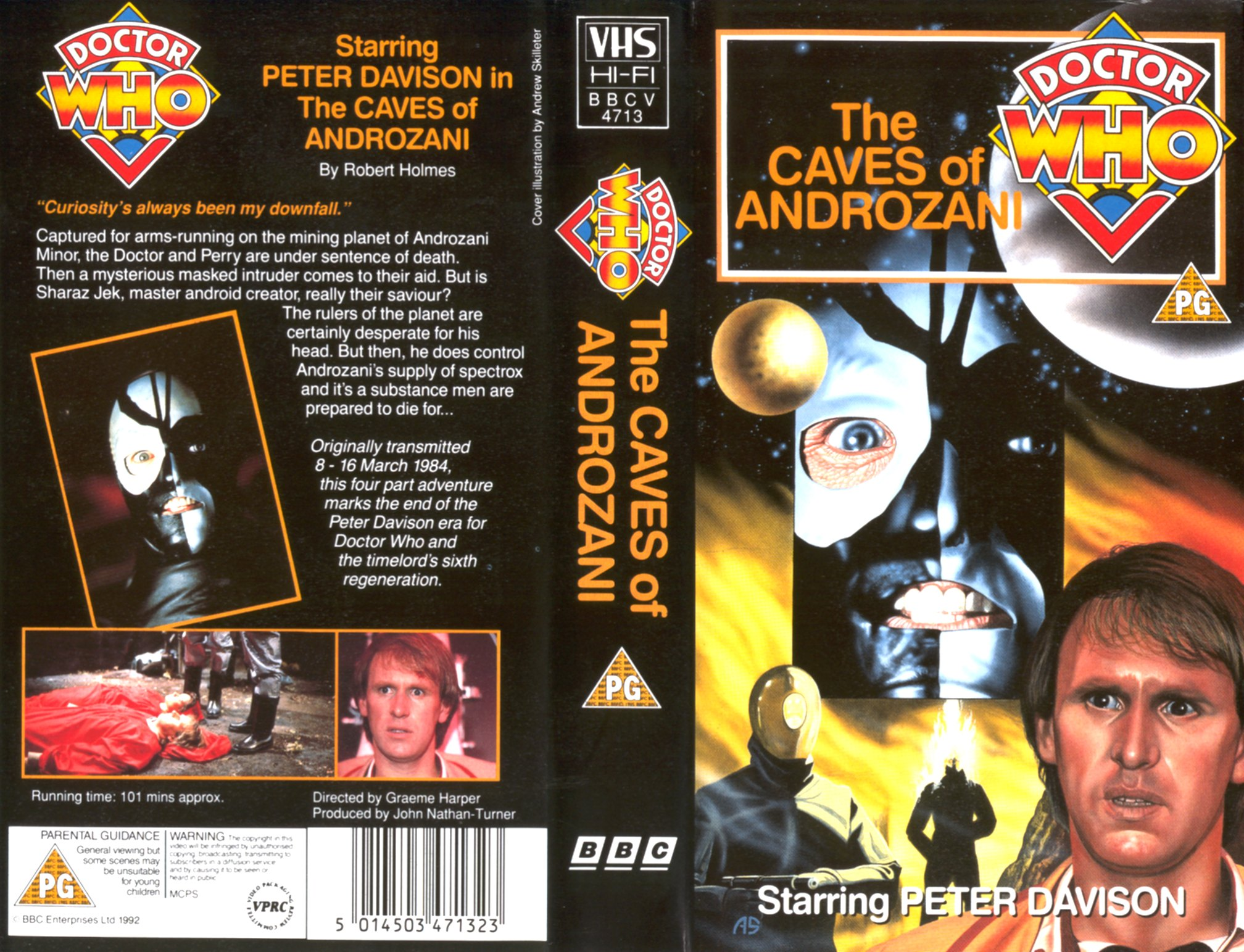 The Caves Of Androzani VHS