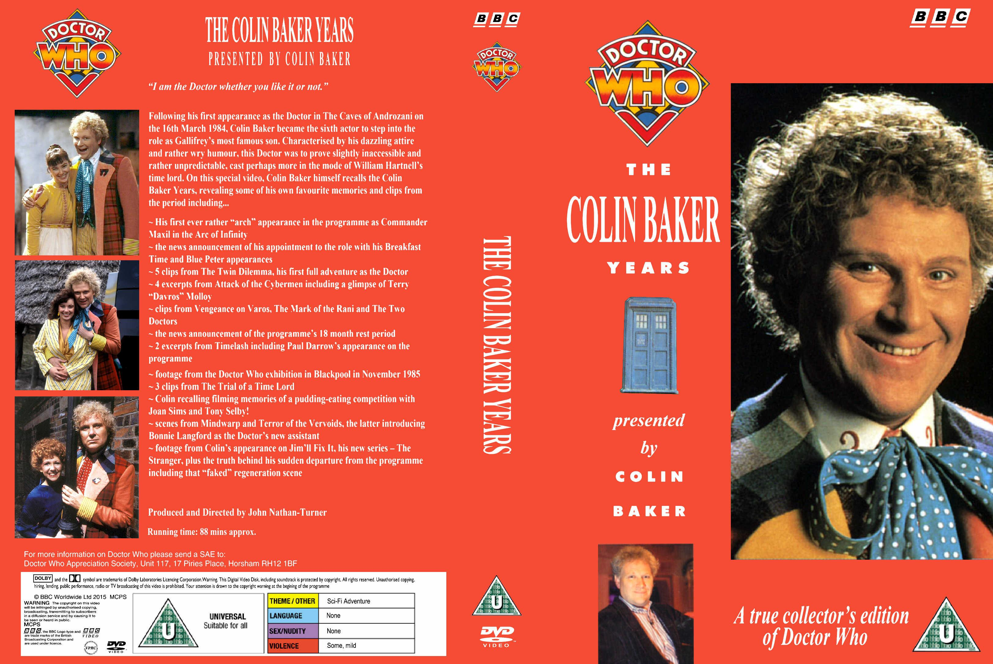 The Colin Baker Years VHS