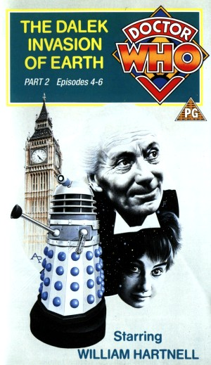 The Dalek Invasion Of Earth VHS