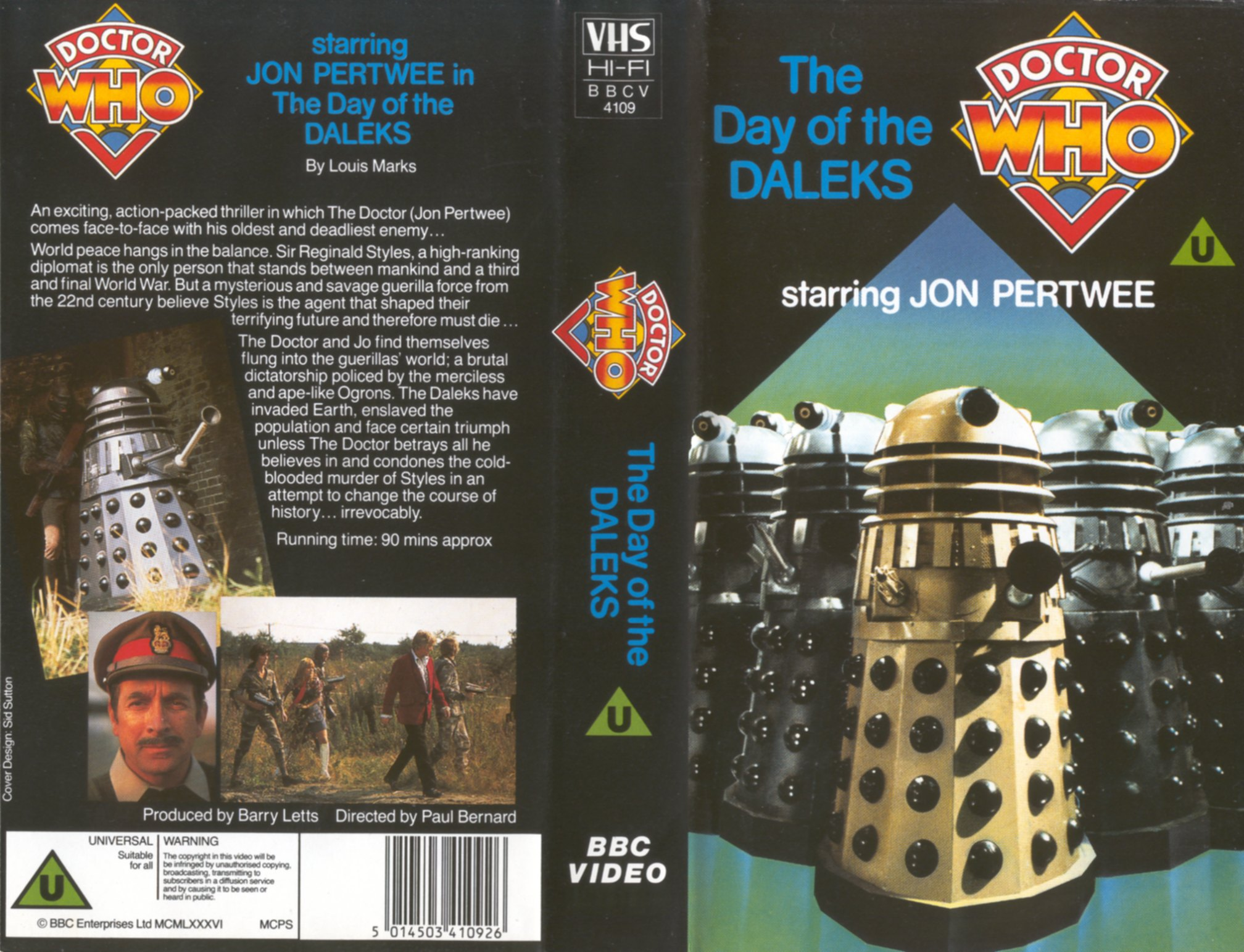 The Day of the Daleks VHS