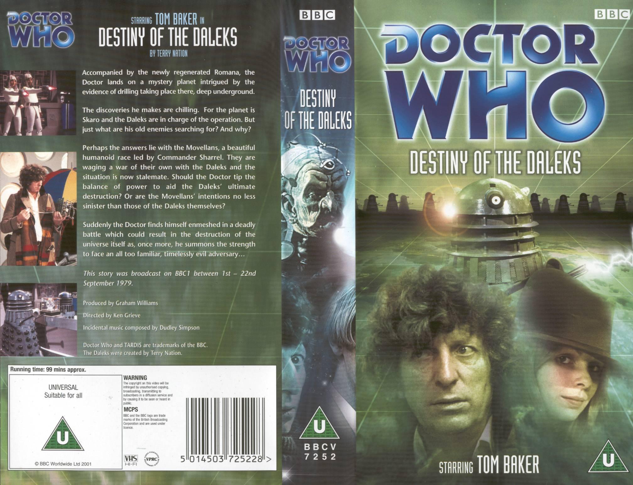 Destiny of the Daleks