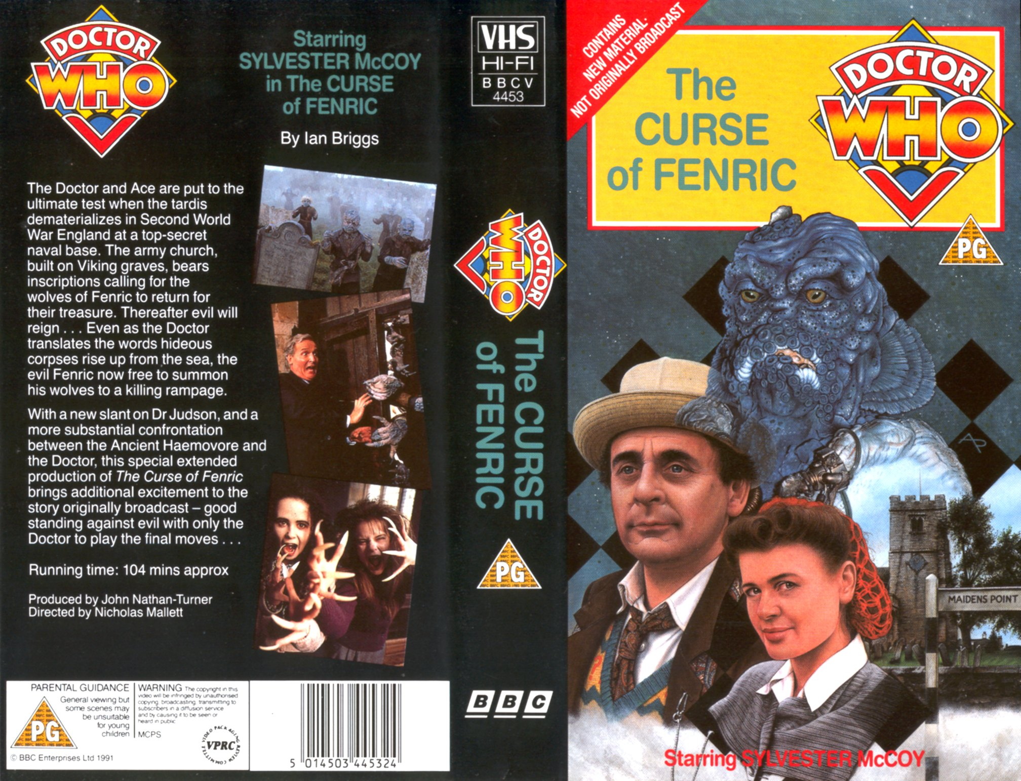 The Curse of Fenric VHS