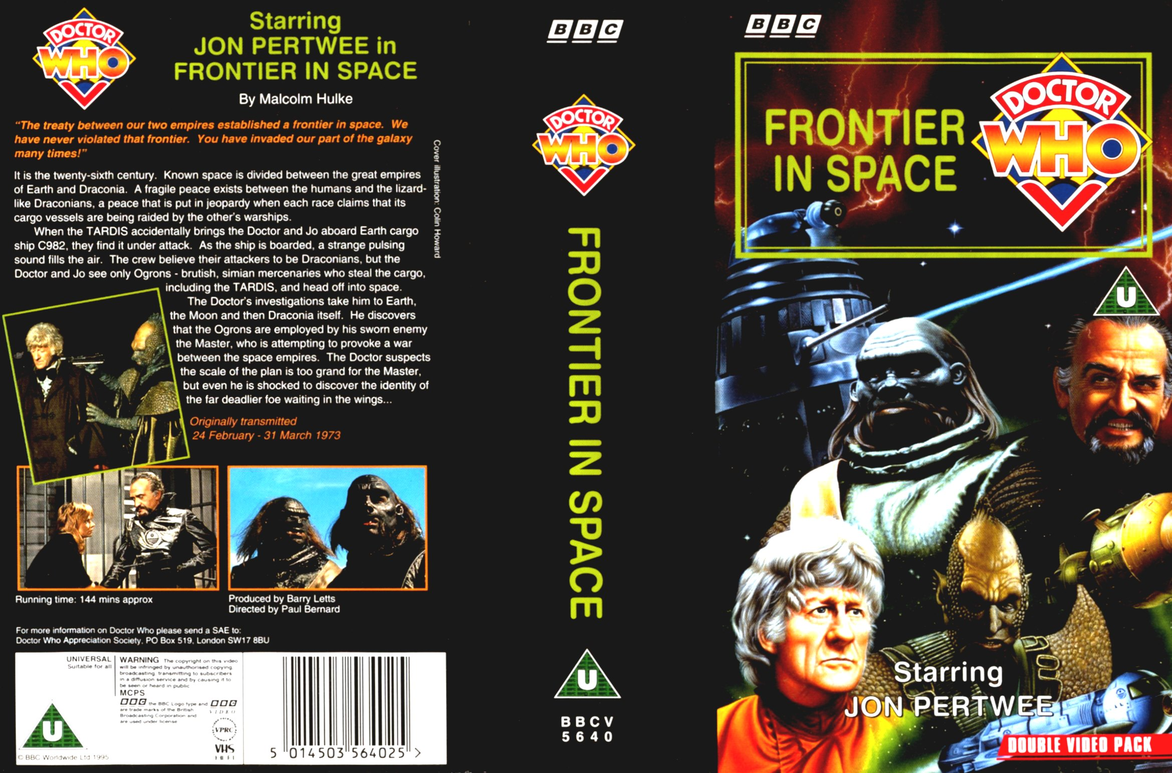 Frontier In Space VHS